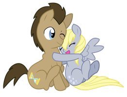 Huggles Vectorized by Missy12113
