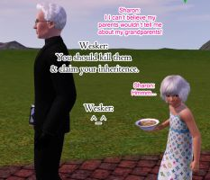 Wesker's Advice by Frigidchick