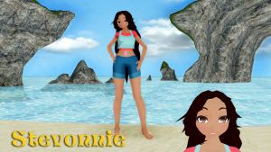 MOTME: Stevonnie MMD Model Dl by Allena-Frost-Walker