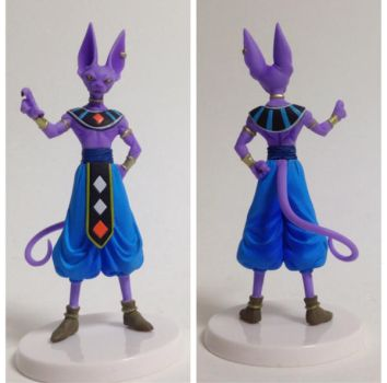 Beerus figure by Orsula36