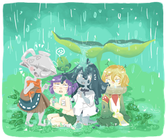 MS - Shelter from the rain by cherifish