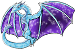 Special Ice Aurora Dragon by GeminiFall