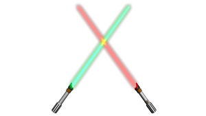 Lightsabers by SomethingIdontknow