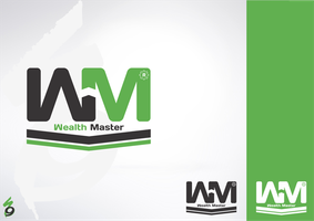 wealth master logo by waelswid