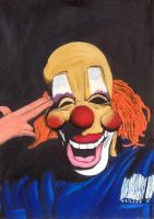 Paint: Shawn Crahan/Clown from Slipknot by D-KenSama78
