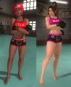 DoA5 Mod - MMA Barefooted Pack by Segadordelinks