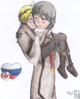 Aph: Canada x Russia by StrychnineSorcerer