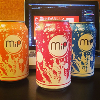 Mip Cola Can Design by zmdigital