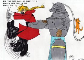 :FMA - Why I Oughta...: by KatieKurama