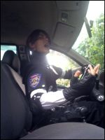 RPD: Jump in the car Claire, Now! by A2Glloriame