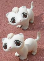 White Ferret LPS by jupiternwndrlnd