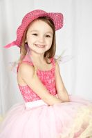 Smiley girl with pink hat by Bodhichita