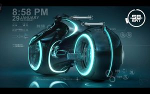 Tron Legalcy - Rainmeter by devil-pl