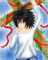 Death Note L by lazy-moon-angel