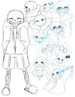Sans Galore! by SparkyBytes
