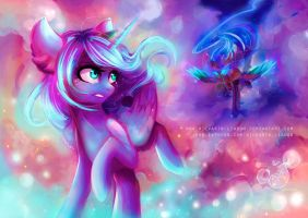Stop running away from yourself, Luna [with SP] by Wilvarin-Liadon