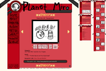 Planet Miro - Official Website by Midnight-Specks