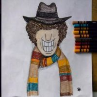 The 4th doctor,  Tom Baker by Duratec