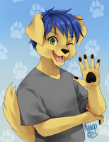 Lance will be on my credit card~! -full picture- by Lance-C-Bones