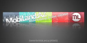 Banner for MobiLand.az by Numizmat