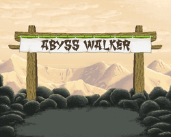 Main screen for 'abyss walker' by Roman-SS-Squall