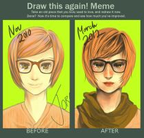 Improvement Meme: Nov 2010 vs March 2012 by moaniez