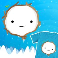 Adventure Time T-shirt design - Snow Golem by LAckas