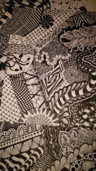 Zentangle by sweetfemale25