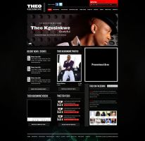 Musician website by manujg