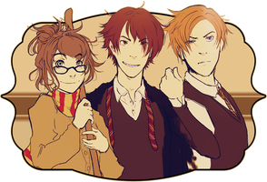 triwizard triumvirate by perchyn
