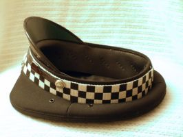 British Police Peaked Cap 02 by Zeds-Stock