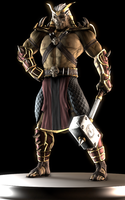 Shao Kahn by Yare-Yare-Dong