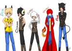 MASS CHARACTER COLLECTION by ClowThePinkest