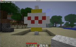 day time minecraft easter egg by chappy-rukia