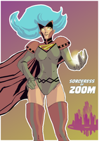 Sorceress of Zoom by wildcats25