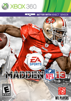 Madden NFL 13: Frank Gore cover by chronoxiong