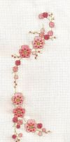 Cherry Blossom Cross Stitch by SarAnna2195