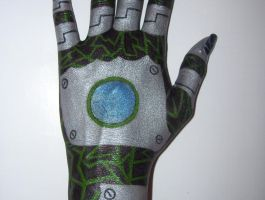 Cyber hand 2 by dragon-wraith