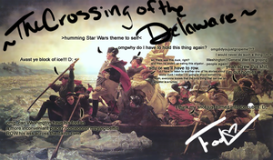 The Crossing of the Delaware by x-Aka-x
