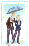 APH - Rainy day by chibi-rice-ball-chan