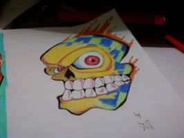 Ink Skull by Willx03