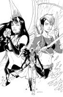 CHAOS 01 cov inks by ColtNoble