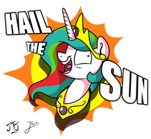 Hail The Sun by MLP-Scribbles