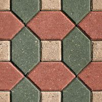 Red-GReen tile by ShangyneX