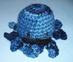 Crochet Octopus with Mustache by Jennifer-EA