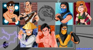 MORTAL KOMBAT 1992 by XAMOEL