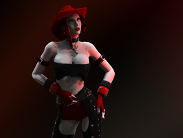 CowGirl by missGangrel