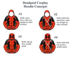 Deadpool Hoodie Concept by Linksliltri4ce