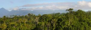 Mountain view from the Orchid Villa Bali by RaynePhotography