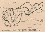 Leta Tybee Island ATC by Gryphon-HB